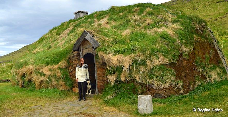 Eiríksstaðir - the turf house of Erikthe Red in West-Iceland