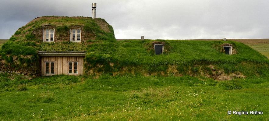 Sænautasel turf house in East-Iceland