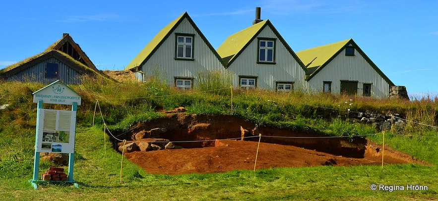 Excavations at Árbæjarsafn Museum