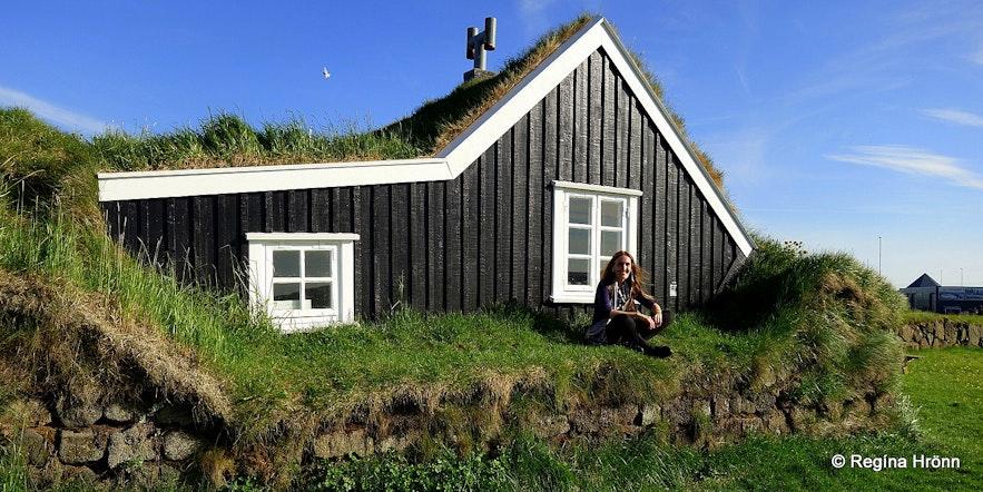 Stekkjarkot workingman's cottage in SW-Iceland