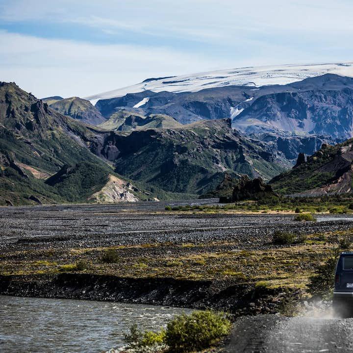 2-dniowa wycieczka po dolinie Thorsmork z sauną i grillem w górach, wyjazd z Hvolsvollur
