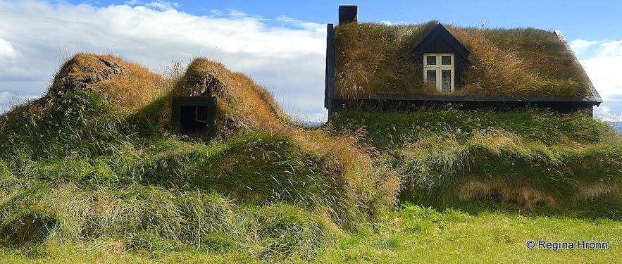 Barmar turf housein the Westfjords