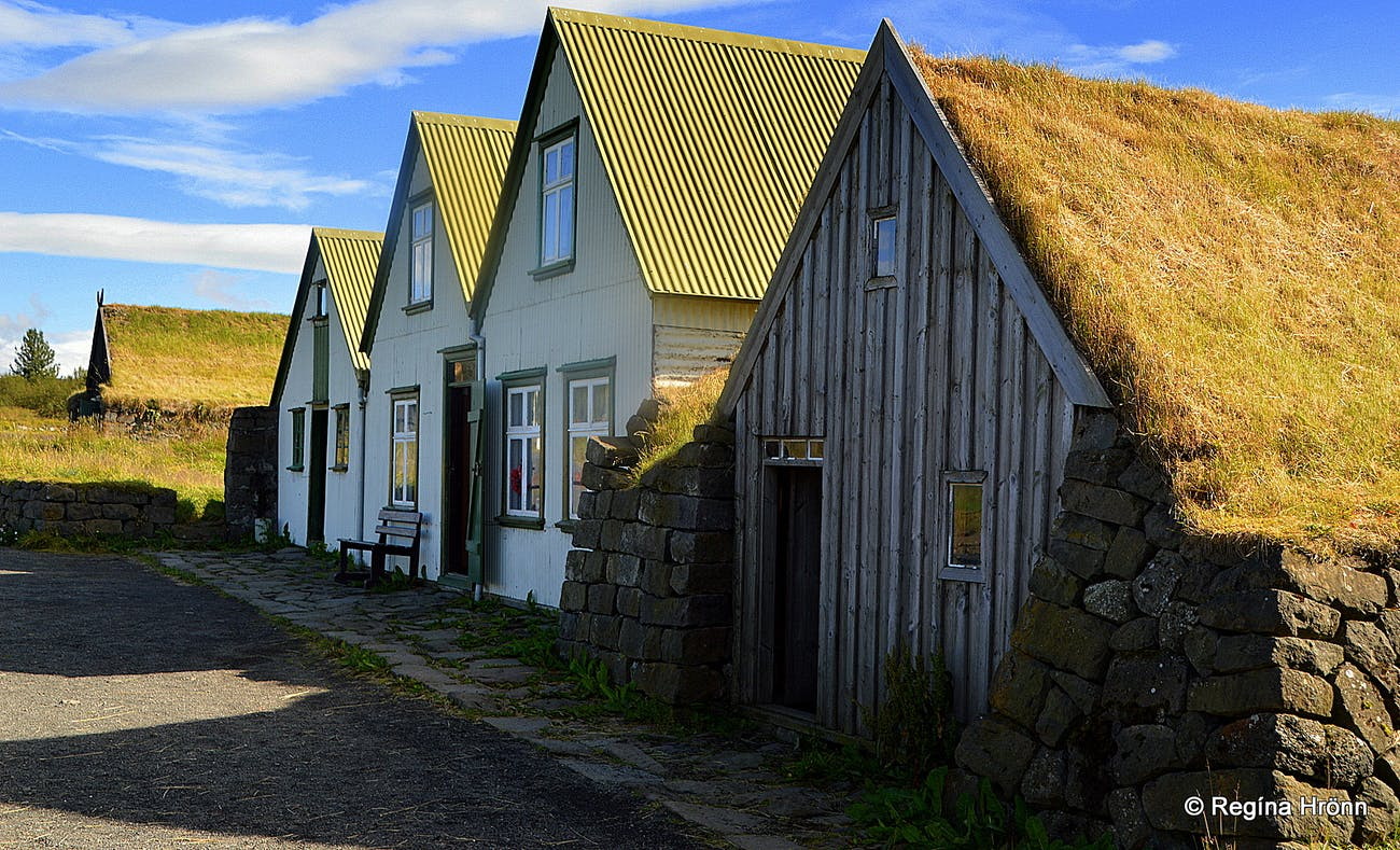 A List of the beautiful Icelandic Turf Houses, which I have