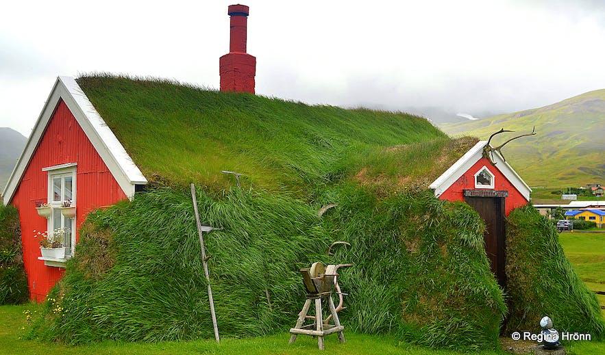 Lindarbakki Turf House in Borgarfjörður-Eystri in East-Iceland