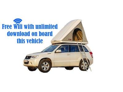 4X4 Suzuki  Grand Vitara Automatic + Roof Top Tent 2014