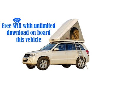 Suzuki  Grand Vitara Automatic + Roof Top Tent 2014