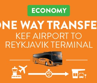 Direct Transfer from Keflavik Airport to Reykjavik Bus Terminal