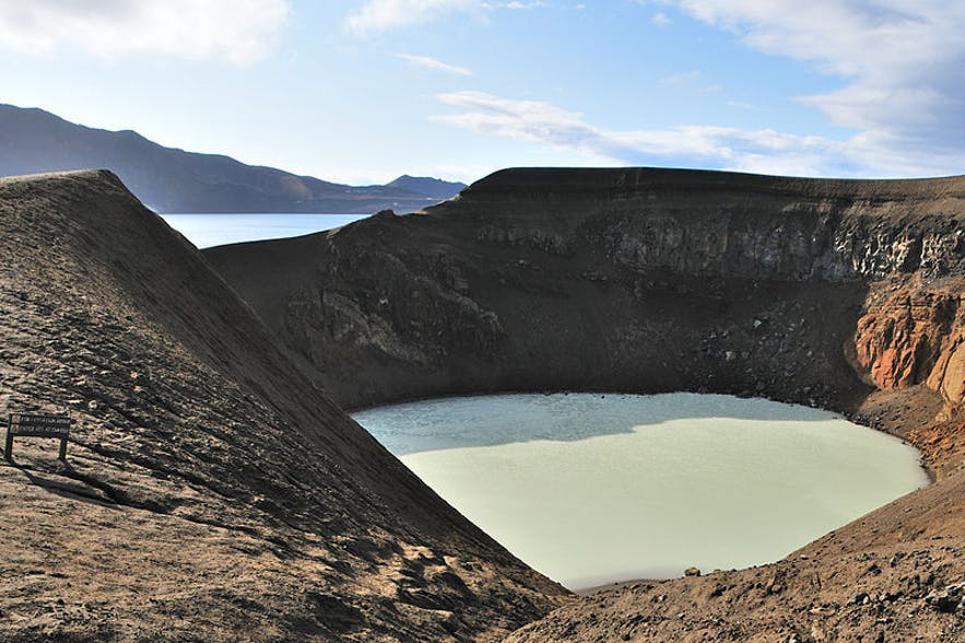 Víti is a geothermal lake found in Askja Caldera in the Icelandic Central Highlands.