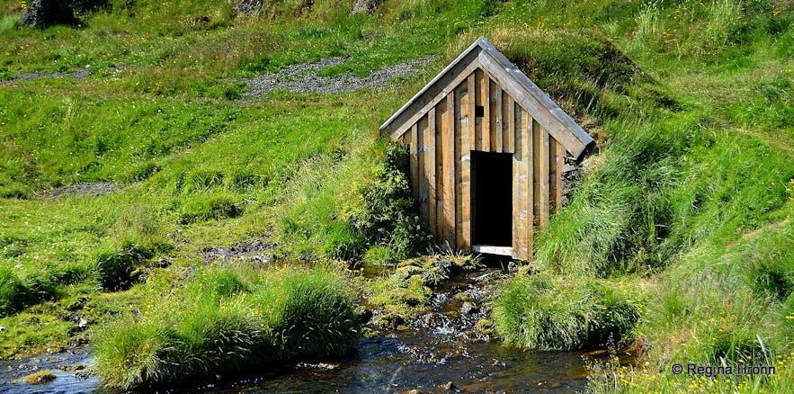 The turf mill house at Keldur South-Iceland