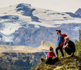 4 dni, wycieczka w interior   Południe, Thorsmork i wędrówka po lodowcu