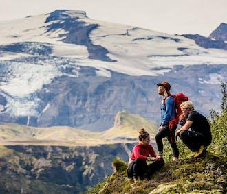 Voyage d'aventure 4 jours | Côte Sud, Thórsmörk et randonnée sur glacier