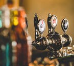 The Base Camp boasts a tasteful bar and dining area, offering reasonable prices.