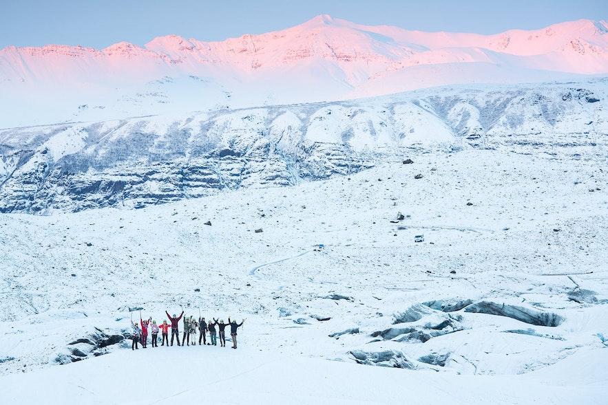 冰島斯卡伏塔山冰川
