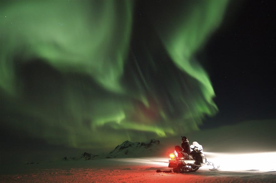 Snowmobile tour from Akureyri