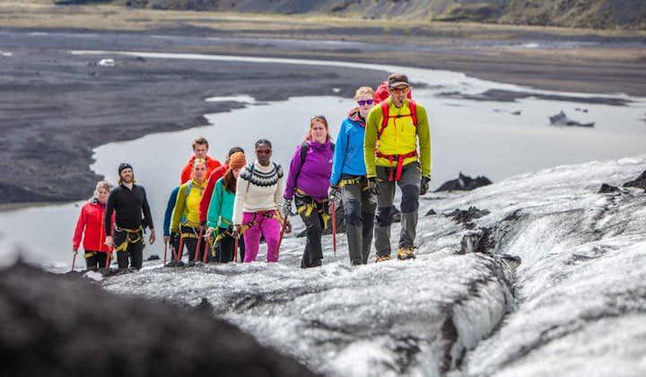 Expedición en el glaciar Sólheimajökull   Nivel fácil