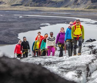 Glacier Discovery on Sólheimajökull | Easy Difficulty