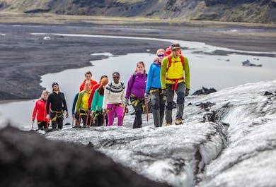 Glacier Discovery on Sólheimajökull   Easy Difficulty