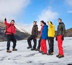 You will be provided with all of the equipment necessary to hike Sólheimajökull glacier.