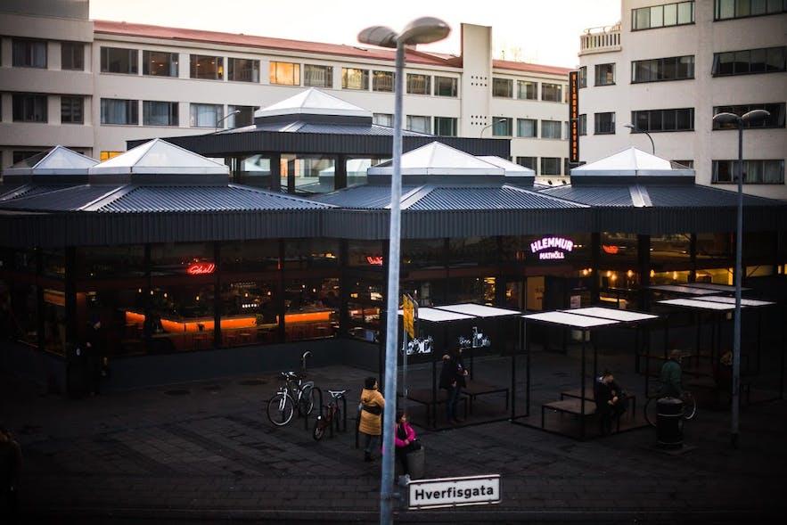 Hlemmur Mathöll, Reykjavík's only Food Hall