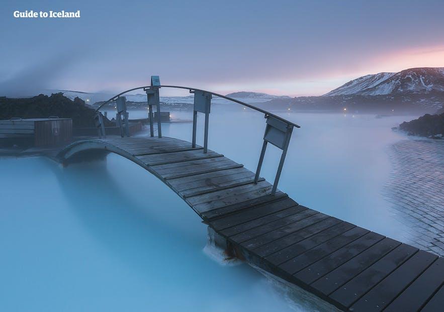 冰島藍湖內部