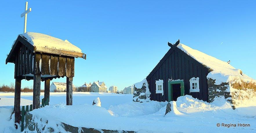Árbæjarsafn Open Air Museum in Reykjavík - a Christmas Visit
