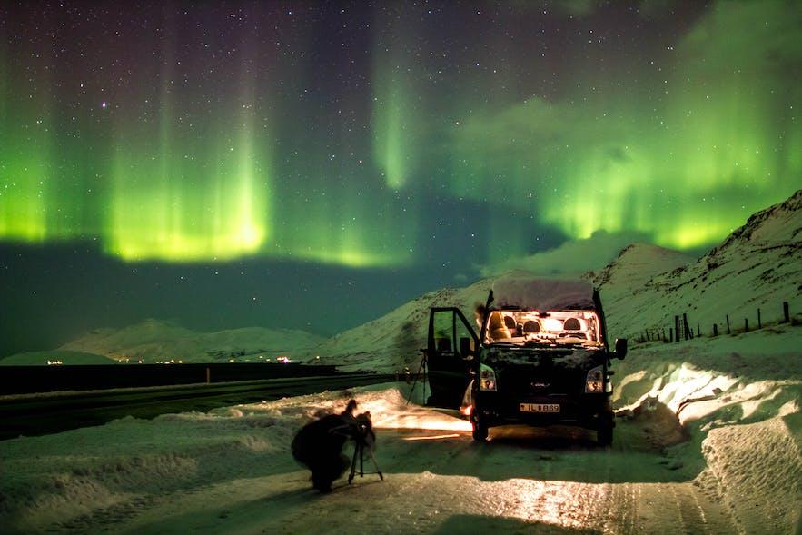 冰島阿克雷里極光Tour