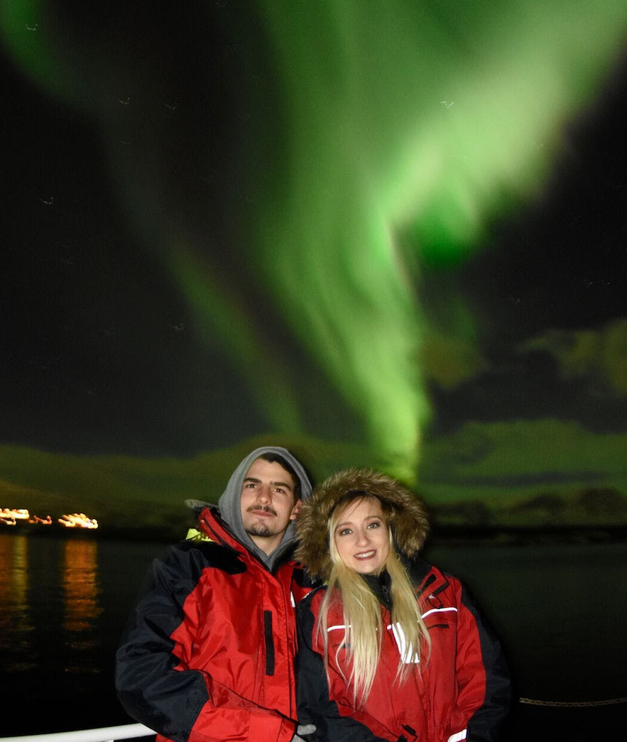 冰島阿克雷里極光船遊