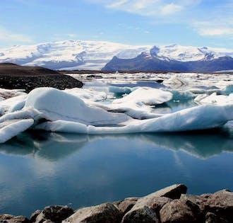 Tagestour zur Gletscherlagune Jökulsárlón   inkl. Zodiac-Bootsfahrt