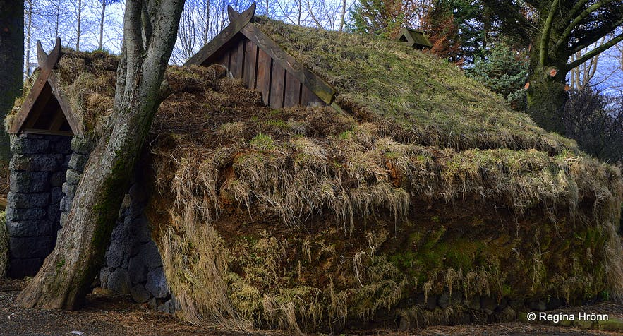 Laugardalur valley turf house in Reykjavík
