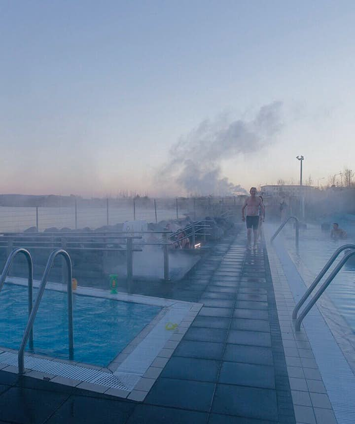 Fontana Spa can be combined with the Golden Circle tour