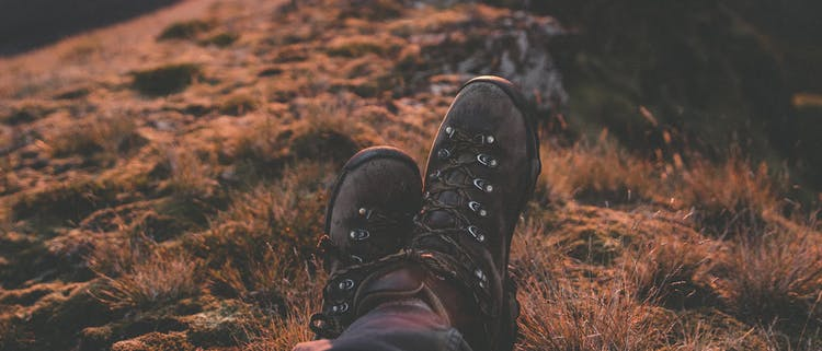 Make sure you bring good hiking shoes on your tour into the Highlands.