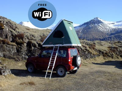 Suzuki Jimny with a rooftent 2014- 2012