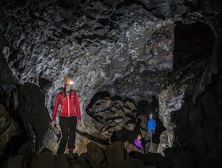 Small Group Caving Tour | Leidarendi Lava Tube