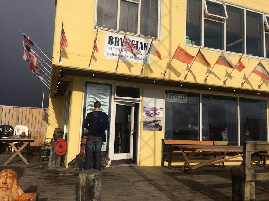 Cafe Bryggjan