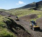 ATVなら問題なくアイスランドの険しい道を駆け抜けることができる