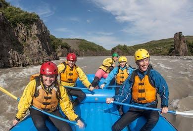 ATV & Canyon Rafting From Reykjavik