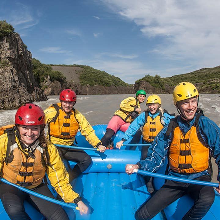 Tour en quad y rafting desde Reikiavik