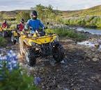 Les quad vous permettent de vous rapprocher de la nature islandaise.