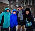 See the parliament building on a walking tour of Reykjavík city.