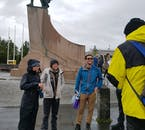 Learn about vikings on a walking tour of Reykjavík city.