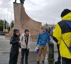 Learn about vikings on a walking tour of Reykjavík city.