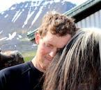Enjoy stunning mountain views from this local Icelandic farm