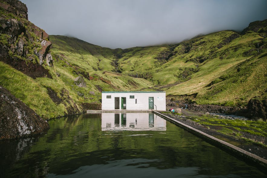 Seljavallalaug is a free entry hot pool in Iceland