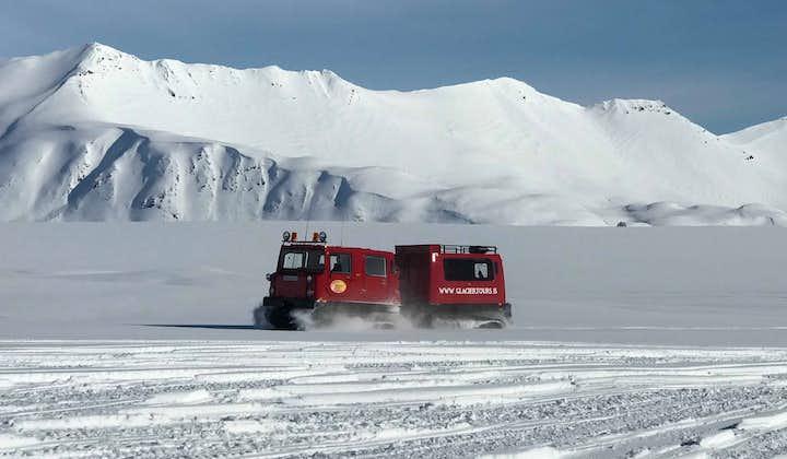 Excursion en Super Jeep sur le glacier Vatnajokull