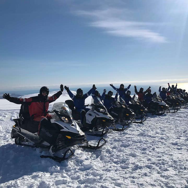 瓦特纳冰原雪地摩托旅行团|在欧洲最大冰川上驰骋