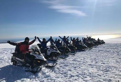 Skutery śnieżne po Vatnajokull | Największy lodowiec w Europie