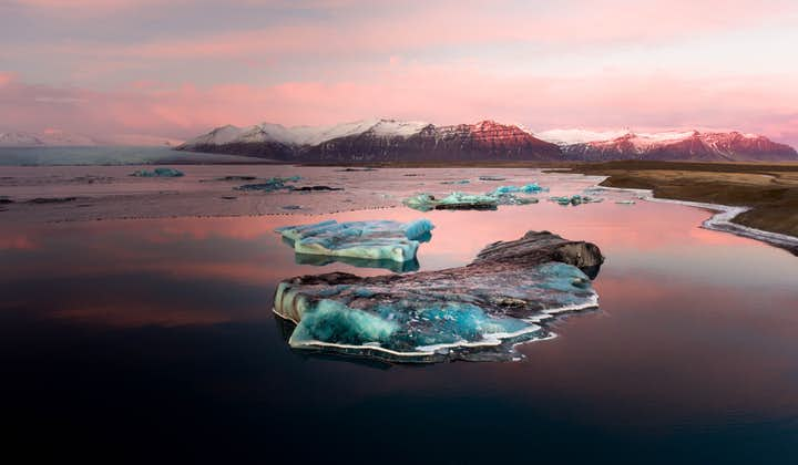 2 Day South Coast Adventure   Jokulsarlon Glacier Lagoon with Glacier Hike & Winter Ice Cave