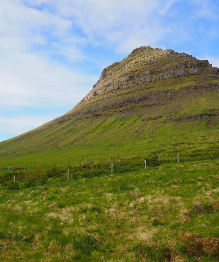 Kirkjufell Mountain, western Iceland