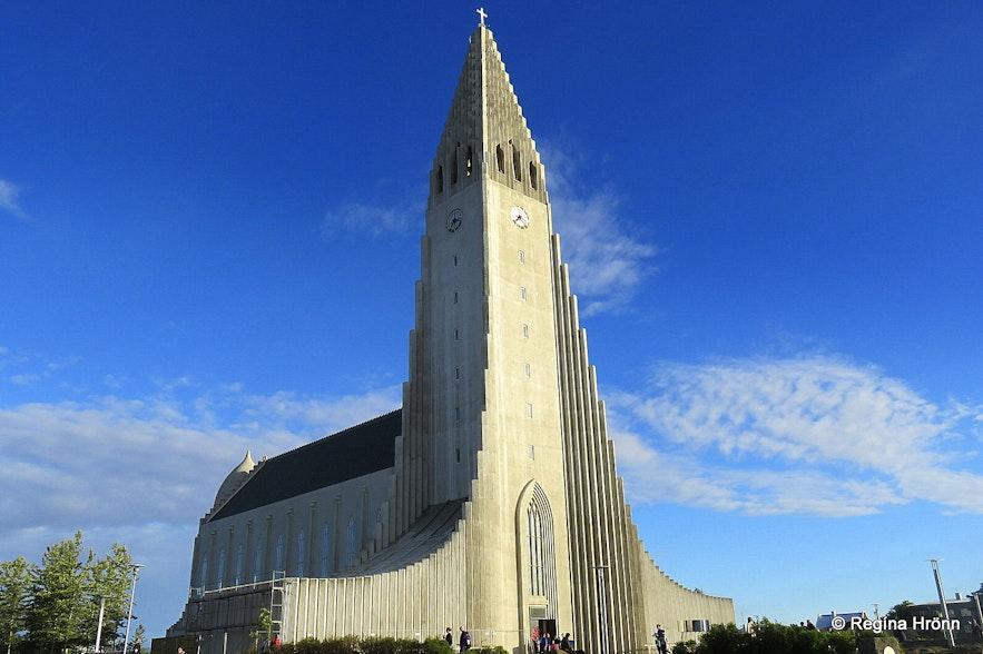 Hallgrímskirkja church Reykjavík