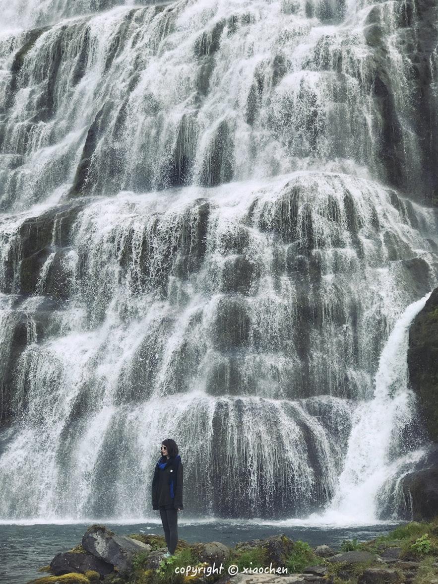 冰岛西峡湾丁坚地瀑布-Dynjandi